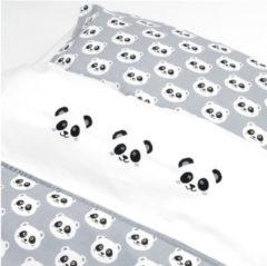 Fabs World Panda Dreams junior - Dekbedovertrek - 120 x 150 cm - Grijs