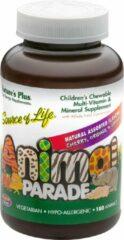 Natures Plus Children's Chewable Multi-Vitamin & Mineral, Assorted Flavors (180 Animals) - Nature's Plus