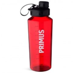 Primus - TrailBottle Tritan - Drinkfles maat 0,6 l, rood/zwart