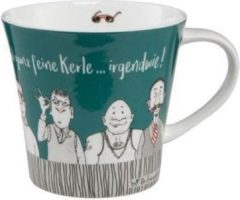 Barbara Freundlieb Goebel Quality: Feine Kerle Coffee/Tea Mug
