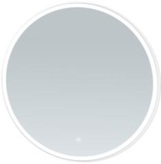 Saniclass Edge Spiegel rond 70cm met geborsteld aluminium zijden, inclusief LED verlichting met touchscreen schakelaar 3990-70