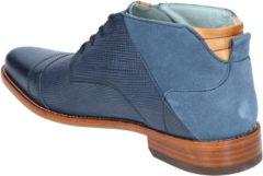 Blauwe Rehab Spyke Indigo Boots veter-boots