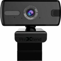 Zwarte ProXtend X201 Full HD webcam 3 MP 2048 x 1536 Pixels