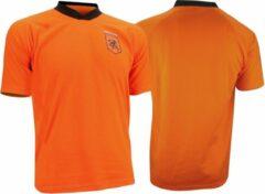 Avento Nederland Voetbalshirt Supporter Senior Oranje/zwart Maat M