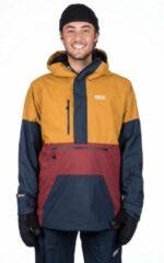 Picture - Trifid Jacket - Ski-jas maat XL, oranje/blauw