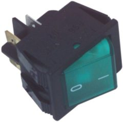 Groene Fixapart Power Switch Original Part Number R210-1C5L-BGZNWC-A