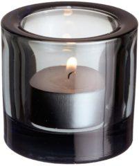 Grijze Iittala Kivi Waxinelichthouder 6 cm Grey