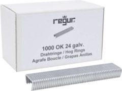 Regur OK 24 draad ringen gegalvaniseerd 1 stuk(s) Regur 60717 Afm. (l x b x h) 10 x 100 x 20 mm