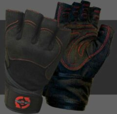 Rode Scitec Nutrition - Trainingshandschoenen - Mannen - Workout Gloves - Red Style - S