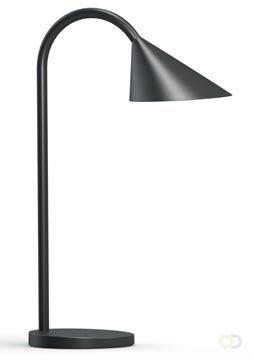 Afbeelding van Witte Unilux Sol LED Bureaulamp - Led-strip - Zwart