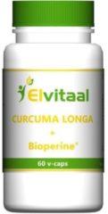 Elvitaal Curcuma longa Bioperine 60 Vegacaps