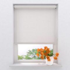 Witte Raamdecoratie.com Rolgordijn Easy Lichtdoorlatend Bright White 140 x 275 cm