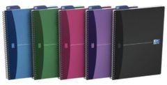 OXFORD 100101421 Spiraalschrift Kleurenassortiment Geruit 5 x 5 mm A4 210 x 297 mm 90 g/m² 90 Vel