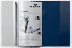 Durable Offertemap met hechtstrip 257906 Blauw DIN A4 1 stuks
