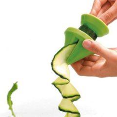 Mastrad Decoratiesnijder - Voor Groenten - Met Schoonmaakborstel - Set van 3 stuks - Groen