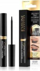Eveline Cosmetics Perfecte Tattoo Instant Brow gel tint voor Donkerbruine wenkbrauwen 6ml