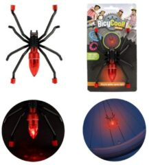 Zwarte Toitoys Toi-toys Bicycool Fietsspaaklicht Spin