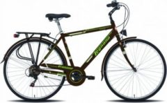 28 Zoll Herren City Fahrrad Legnano Portofino 6 Gang Legnano braun-grün