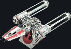 Metal Earth bouwpakket Star Wars Zorii's Y-Wing Fighter