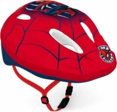 Marvel Disney kinderhelm spiderman jongens rood maat 52-56
