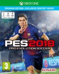 Konami Pro Evolution Soccer 2018 (Premium Edition) Xbox One (4012927112182)