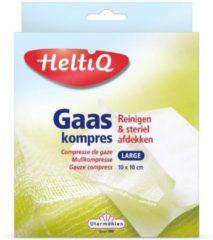 Utermohlen HeltiQ Gaaskompressen - 10 x 10 cm - 10 stuks - Gaasjes