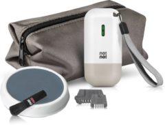Zilveren No!No! Micro IPL lichtontharing - Ontharingsapparaat - klein een draagbaar - lichaam en gezicht