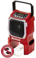 Einhell Germany AG Einhell TE-CR 18 Li-solo Tragbar Digital Schwarz - Rot Radio 3408015