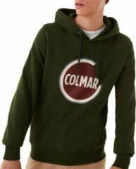 Donkergroene Colmar Trui - Mannen - donker groen