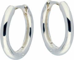 Best Basics Zilveren klapcreolen - ronde buis 2.5 mm 107.0067.16