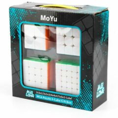 MoYu Speed Cube Set - 2x2, 3x3, 4x4, 5x5