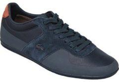 Marineblauwe Lacoste Turnier 117 1 CAM1021003, heren, marineblauw, sneakers maat: 44,5 EU