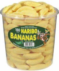 Gele Snoepgoed Haribo silo Bananas 1050 gr.