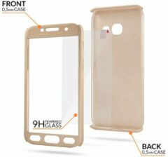 Samsung S9 Full Body 360 Super Thin Case Cover Hoesje Goud