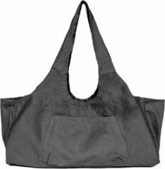 Minnee Sports canvas Yoga Tas met (rits)vakken - Zwart - XL