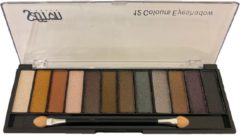 Huidskleurige Saffron Simply Nude eyeshadow Box