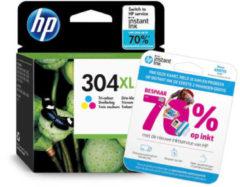 Gele HP HP 304 XL INK CO inktcartridge (kleuren)