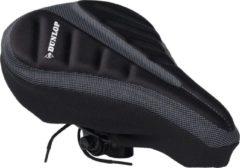 Zwarte Dunlop Zadelhoes Gel - voor Maximaal Comfort - 28 x 20 cm