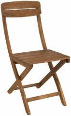 Bruine Xenos Kreta inklapbare stoel - 57x39x86 cm