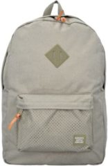 Heritage 17 I Backpack Rucksack 47 cm Laptopfach Herschel dark khaki crosshatch seneca rock rubber