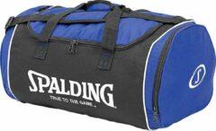 Spalding Sporttas Tube - Medium - Blauw