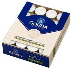 Gouda Theelichten 4,5 uur in doos 60 wit