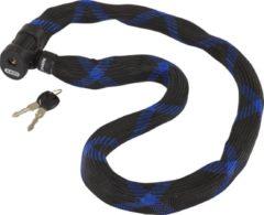 ABUS 7210/110 Ivera Chain Kettingslot Zwart/blauw Sleutelslot