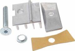 Grijze Hebie Adapter Set Voor Dubbele Standaard Aluminium