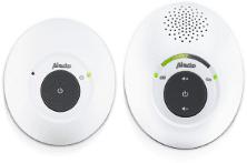 Witte Alecto DBX-115 Full Eco DECT babyfoon | Kraakheldere geluidskwaliteit en 100% storingsvrije verbinding | Wit