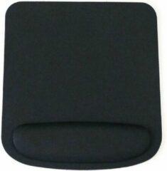 DrPhone ER1 - Ergonomisch Muismat - Mousepad - Polssteun - 210x230mm - Perfect voor Optische & Trackball Muis - Zwart