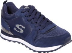 Marineblauwe Skechers Retros-Og 85 Goldn Gurl Dames Sneakers - Blauw - Maat 37