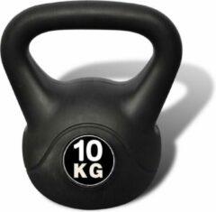 Zwarte VidaXL Kettlebell 10 kg