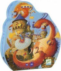 Rode Djeco Puzzel Ridder en de Draak