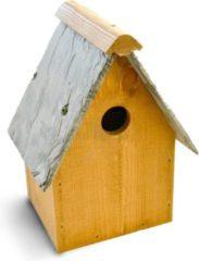 Antraciet-grijze Tom Chambers Oakwell vogelhuisje - FSC hout - 32 mm